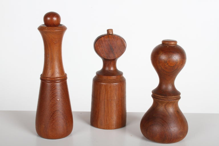 Large Dansk Collection of Pepper Mills and Salt Shakers, IHQ For Sale 1