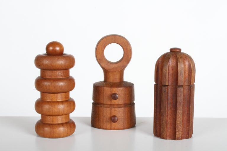 Large Dansk Collection of Pepper Mills and Salt Shakers, IHQ For Sale 2