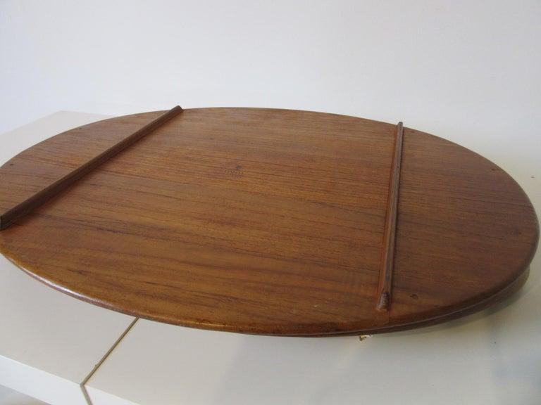 Large Dansk Teak Tray by Jens Quistgaard, Denmark In Excellent Condition For Sale In Cincinnati, OH