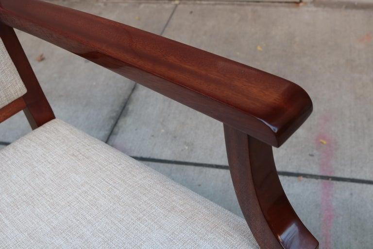 Belgian Large De Coene Fères Art Deco Desk Chair For Sale
