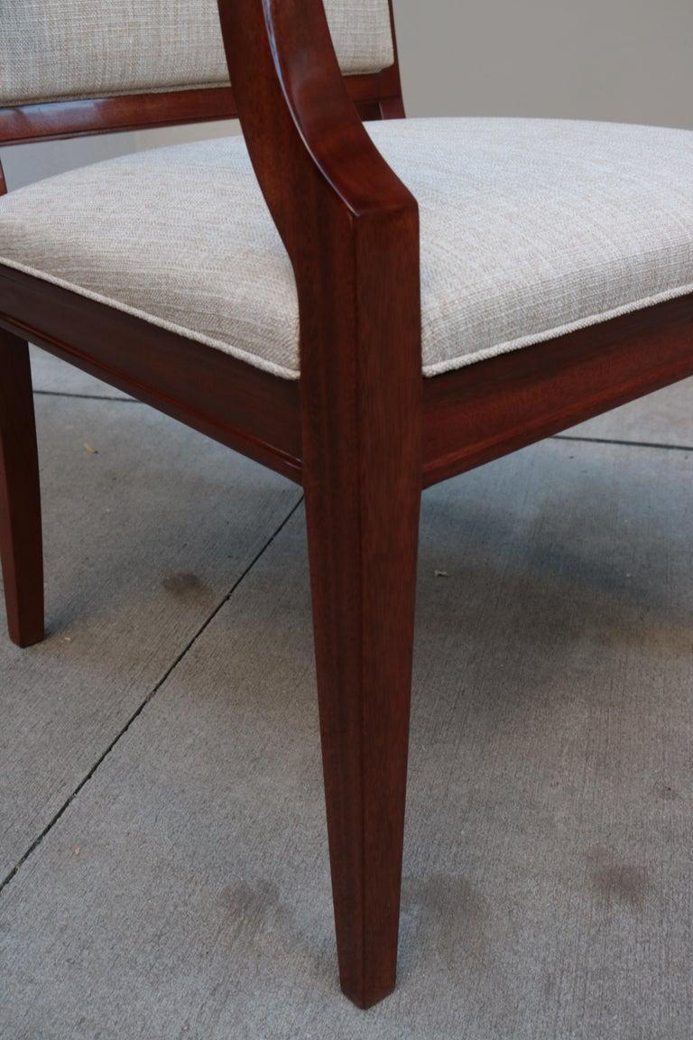 Large De Coene Fères Art Deco Desk Chair For Sale 1