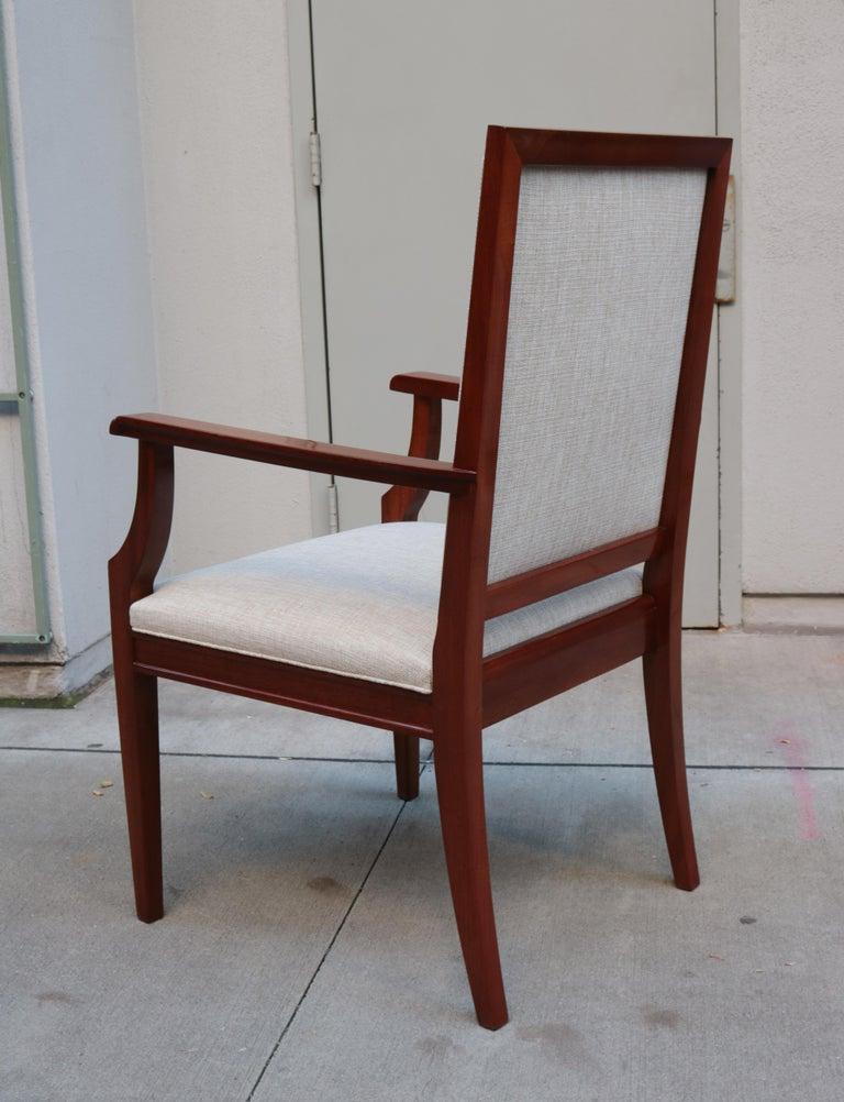 Large De Coene Fères Art Deco Desk Chair For Sale 2