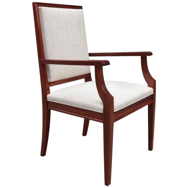 Large De Coene Fères Art Deco Desk Chair For Sale