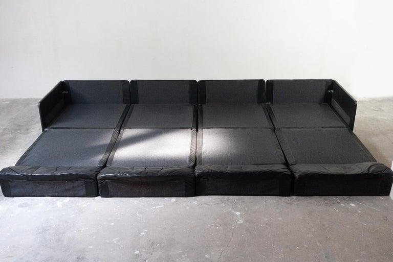 Mid-Century Modern Large De Sede Modular Sofa Model DS 79 For Sale