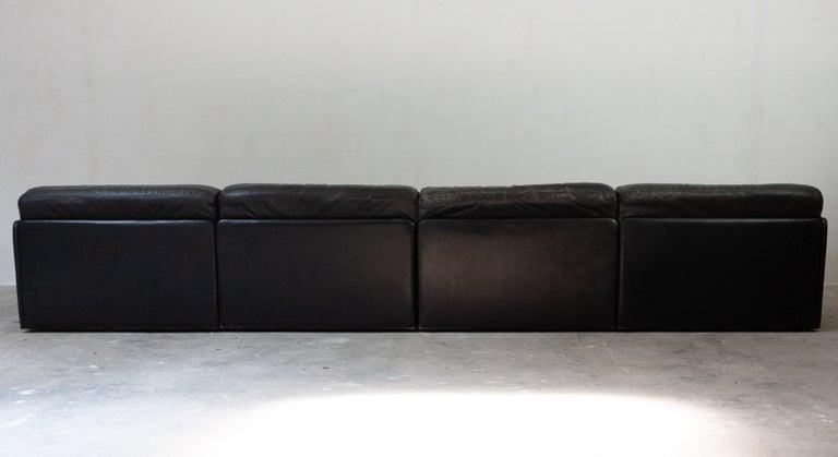 Late 20th Century Large De Sede Modular Sofa Model DS 79 For Sale