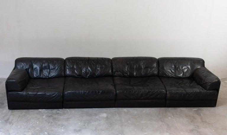 Large De Sede Modular Sofa Model DS 79 For Sale 2