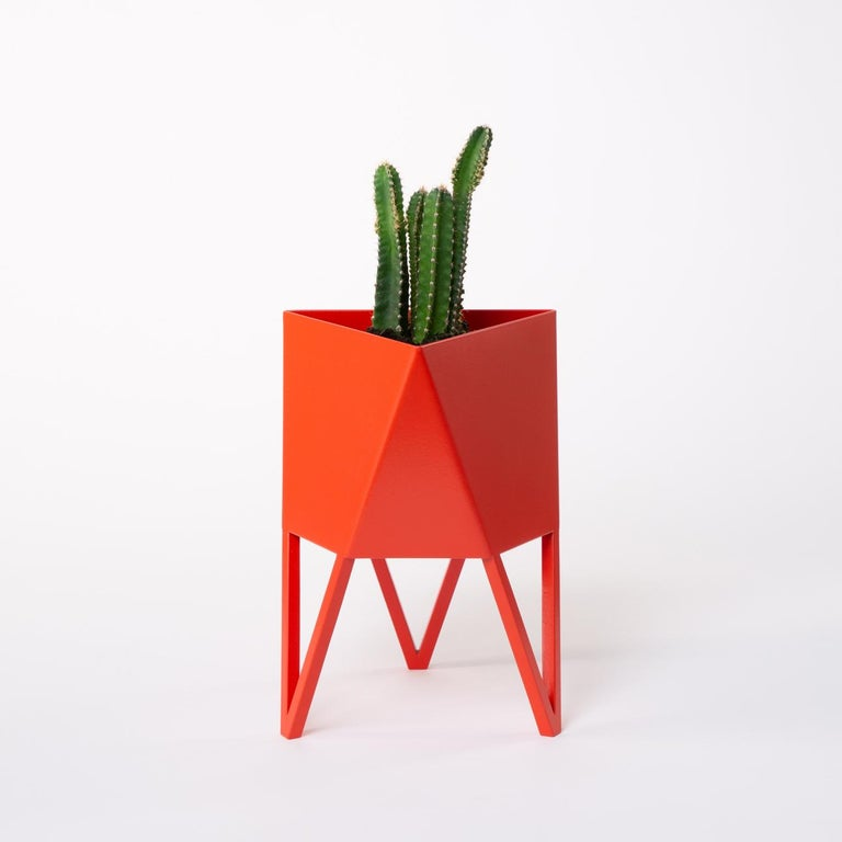 Large Deca Planter in Mint by Force/Collide, 2020 For Sale 6
