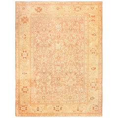 Large Decorative Antique Persian Ziegler Sultanabad Rug. Size: 11 ft x 15 ft