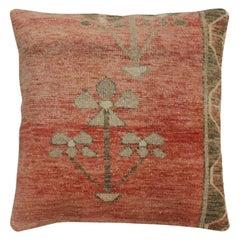 Large Decorative Turkish Rug Pillow