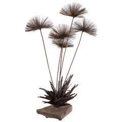 Large Desert Flowers Sculpture by John Steck, 1960s