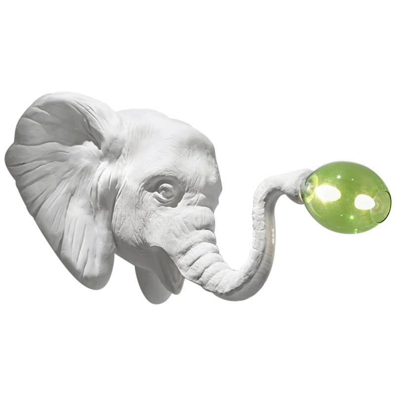 Large Design Wall Light Elephant