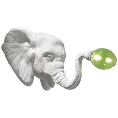 Large Design Wall Light Elephant