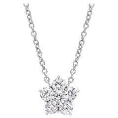 "Large Diamond ""Astra"" Pendant '2.45 Carat'"