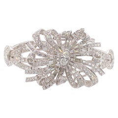 Large Diamond Bracelet Convertable to Pin