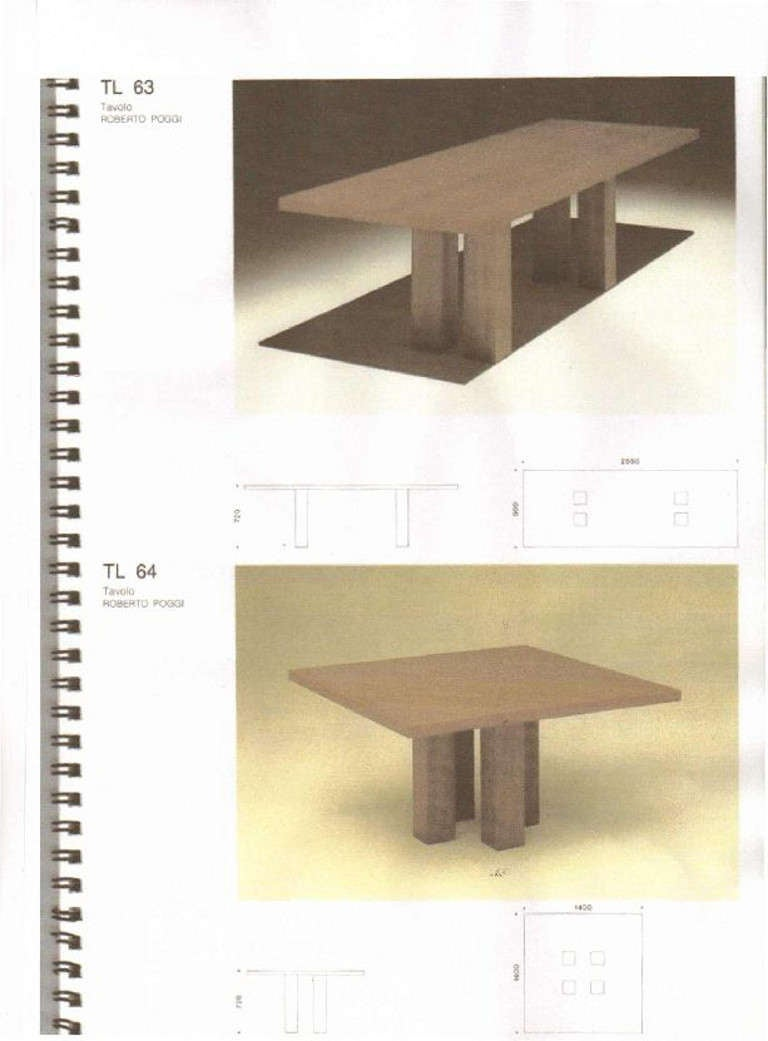 Late 20th Century Mid Century Modern, Italian Large Desk, cons or entrance  table by Roberto Poggi For Sale