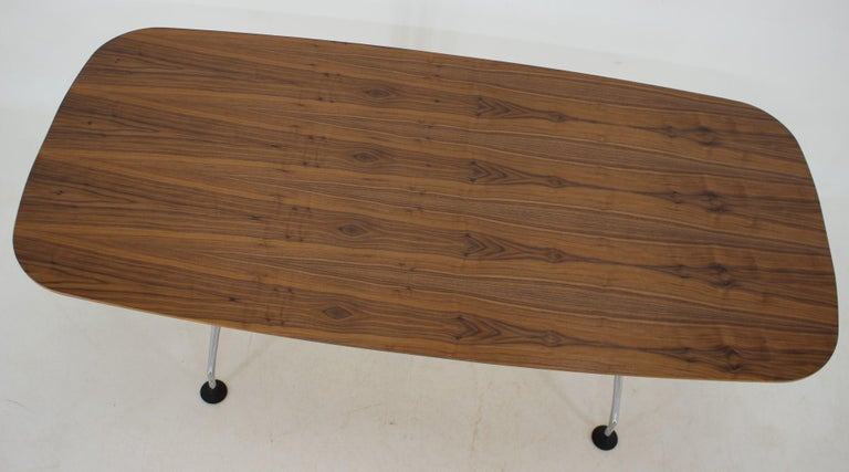 Large Dining Table Vitra Designed by Charles and Ray Eames, 1980s For Sale 2