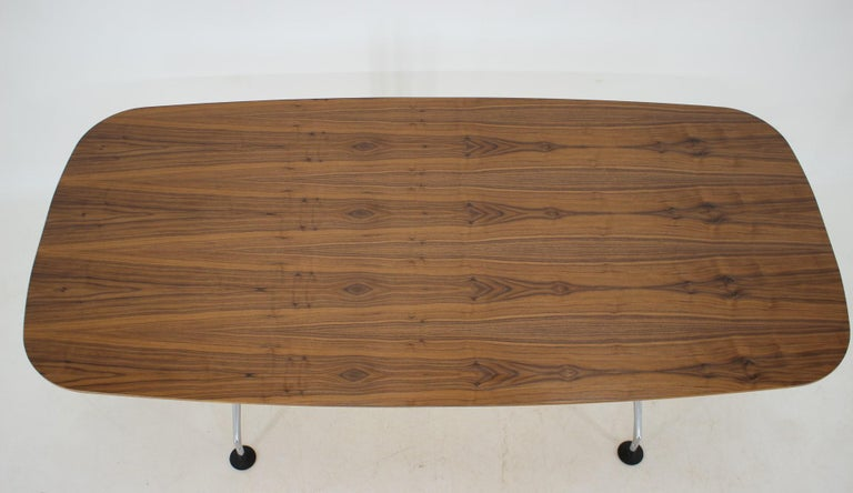 Large Dining Table Vitra Designed by Charles and Ray Eames, 1980s For Sale 3
