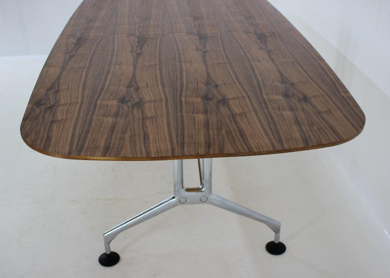 Large Dining Table Vitra Designed by Charles and Ray Eames, 1980s For Sale 4