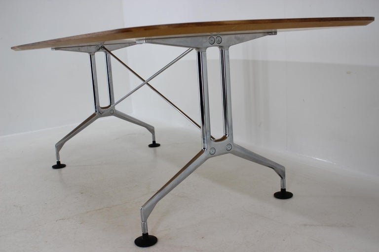 Large Dining Table Vitra Designed by Charles and Ray Eames, 1980s For Sale 5