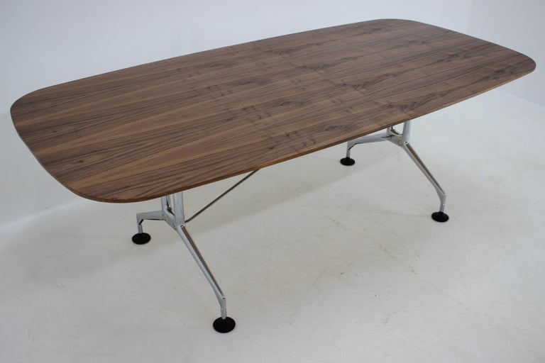 Large Dining Table Vitra Designed by Charles and Ray Eames, 1980s For Sale 8