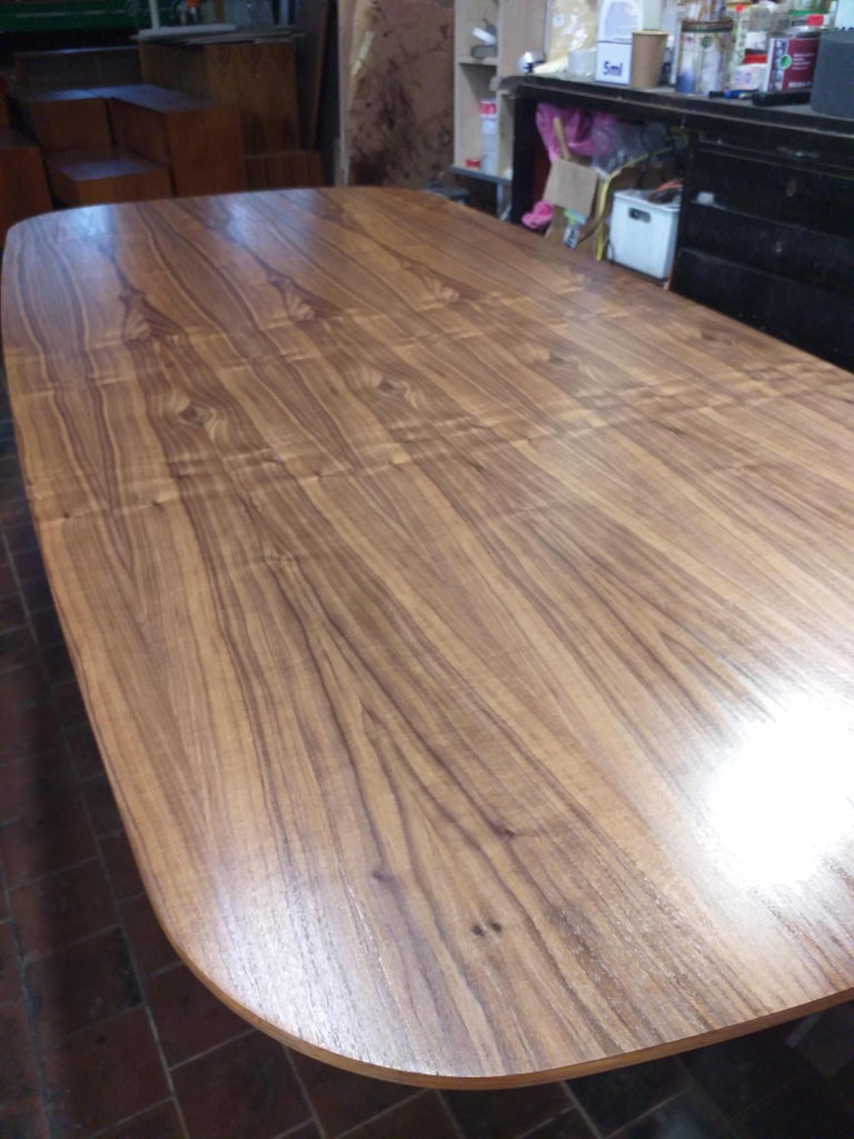 Swiss Large Dining Table Vitra Designed by Charles and Ray Eames, 1980s For Sale