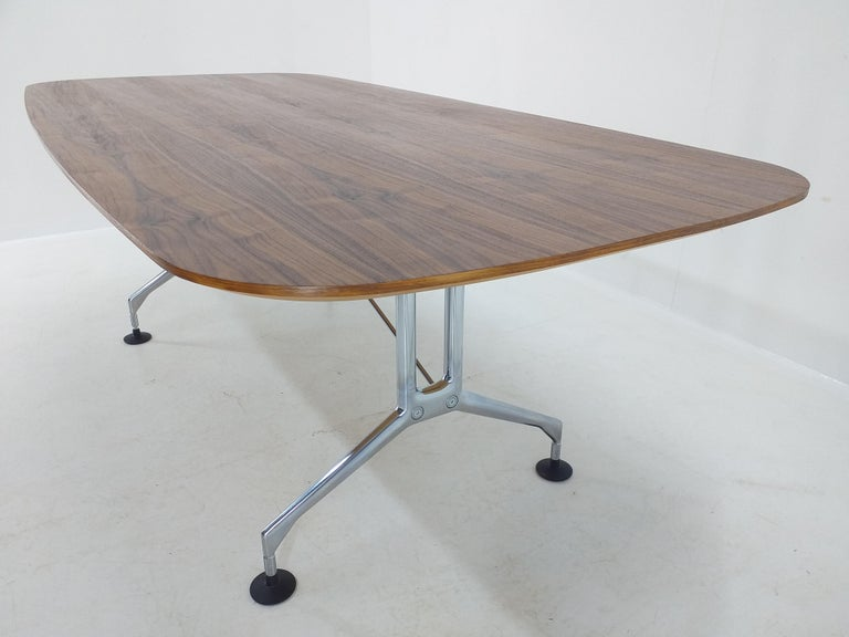 Large Dining Table Vitra Designed by Charles and Ray Eames, 1980s For Sale 1