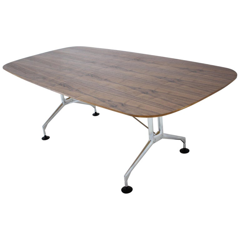 Large Dining Table Vitra Designed by Charles and Ray Eames, 1980s For Sale