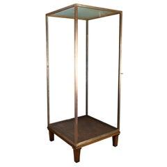 Large Display Case, Bronze, Museum Quality, Showcase, a. Edmonds & Co