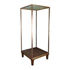 Large Display Case, Bronze, Museum Quality, Showcase, a. Edmonds & Co