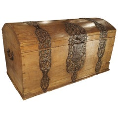 Wood Trunks and Luggage