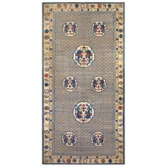 Large Dragon Design Antique Chinese Rug. Size: 9 ft 9 in x 19 ft