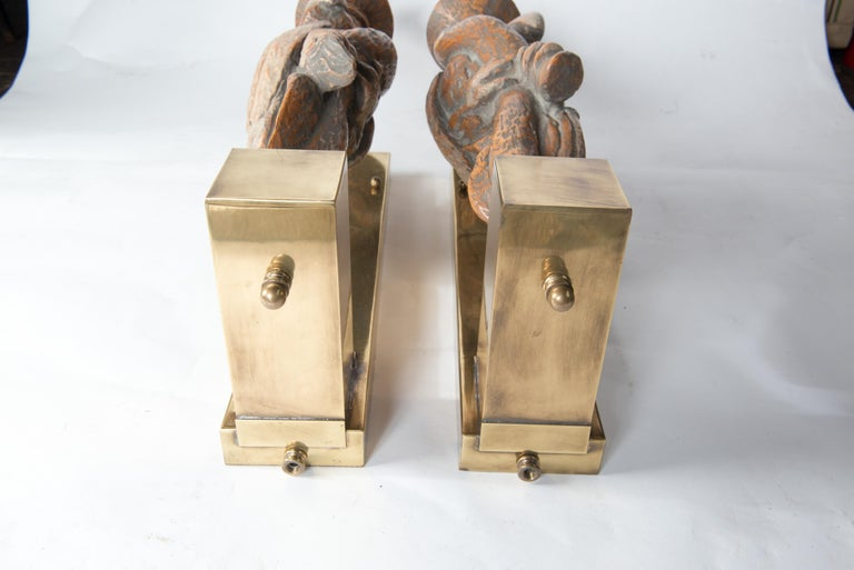 American Large Dramatic Parrot Sconces For Sale