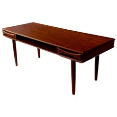 Large Drylund Coffee Table, Danish Modern, 1960s, Teak