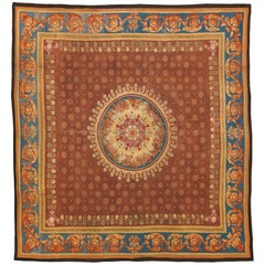 Large Early 19th Century Charles X Neoclassical Aubusson Rug, circa 1830