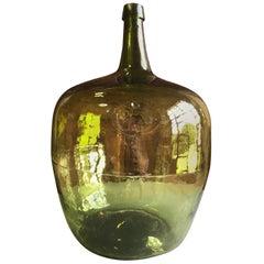 Large Early 19th Century Demijohn Bottle