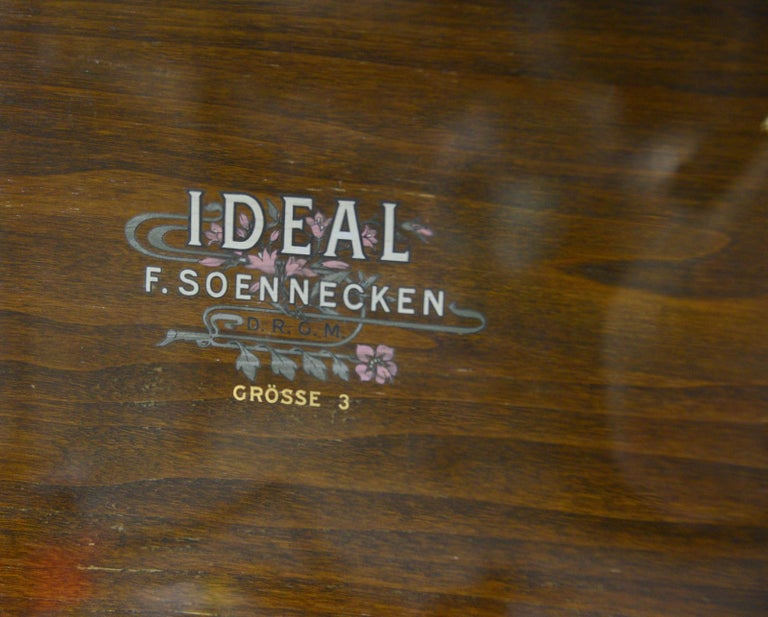 Large Early 20th Century Bookcase by Soennecken In Good Condition For Sale In Gloucester, GB