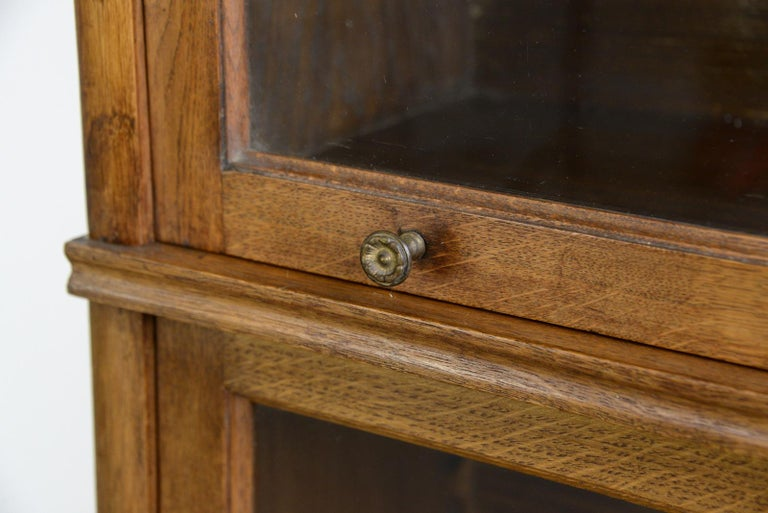 Oak Large Early 20th Century Bookcase by Soennecken For Sale