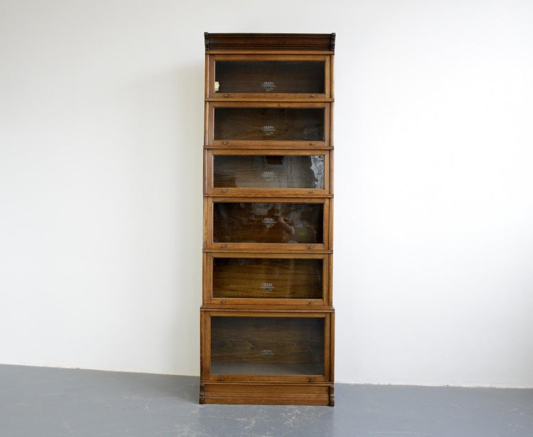 Large Early 20th Century Bookcase by Soennecken For Sale 2