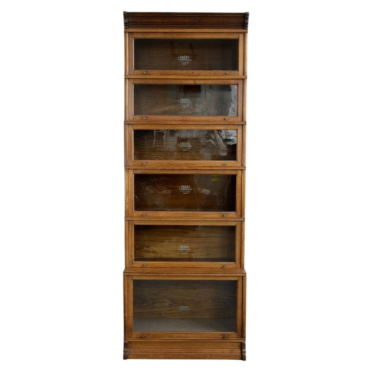 Large Early 20th Century Bookcase by Soennecken For Sale