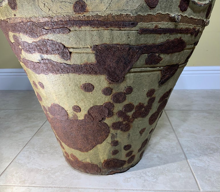 Large Early 20th Century Chinese Terracotta Jar For Sale 11