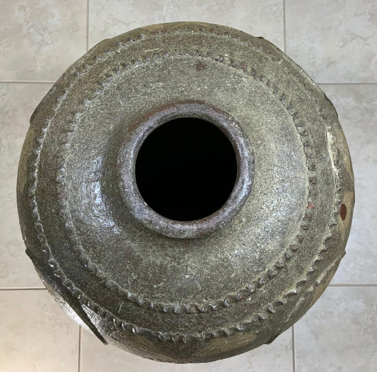 Large Early 20th Century Chinese Terracotta Jar For Sale 15