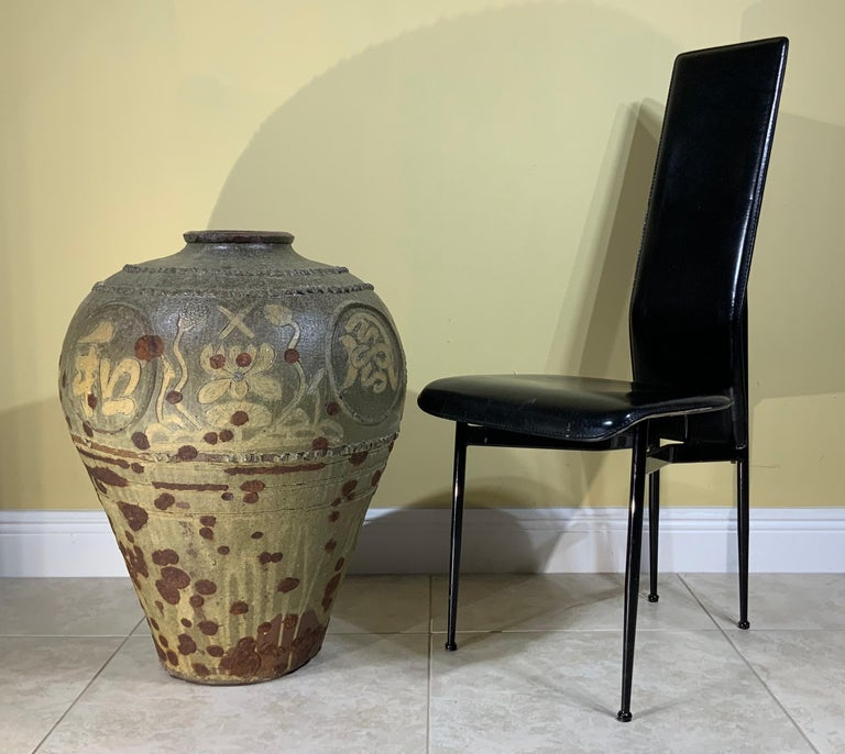 Large Early 20th Century Chinese Terracotta Jar For Sale 17