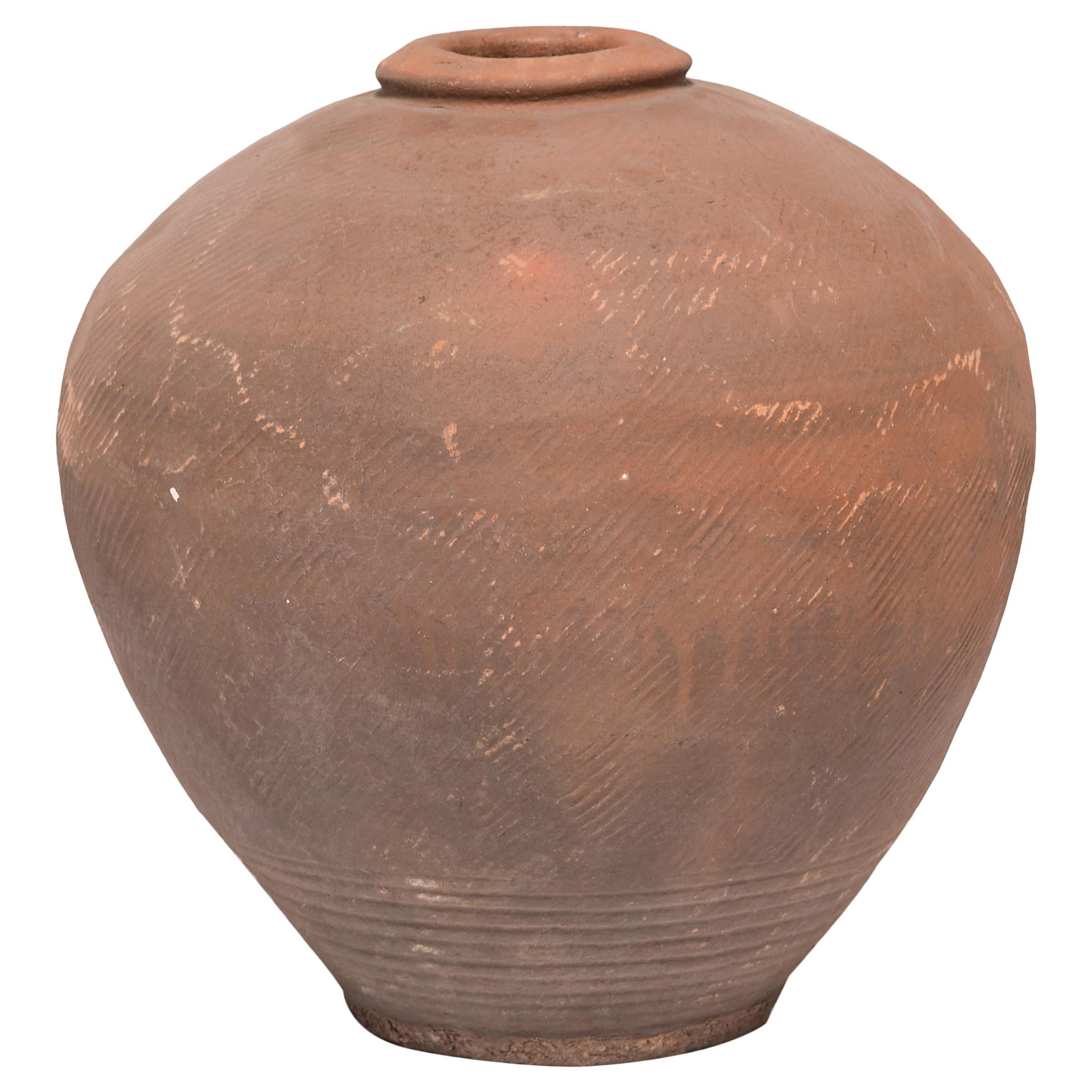 Large Early 20th Century Chinese Wine Jar