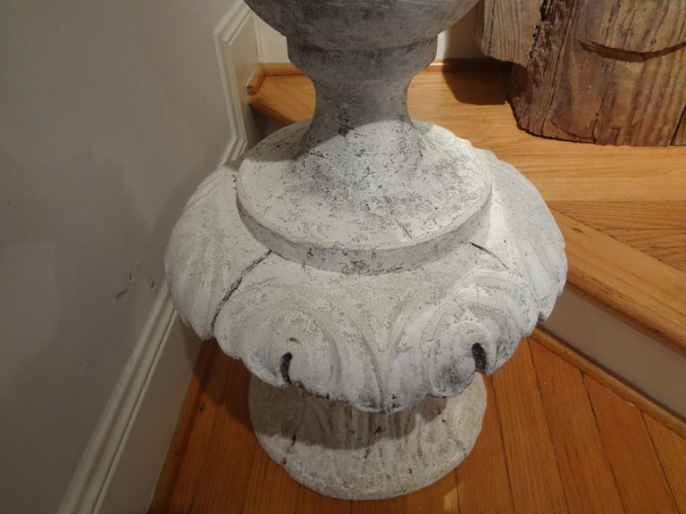 Large Early 20th Century French Neoclassical Style Garden Finial For Sale 1