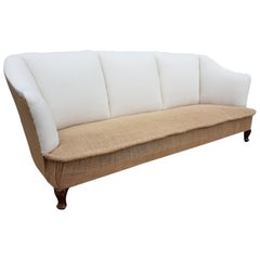 Large Early 20th Century Upholstered Sofa