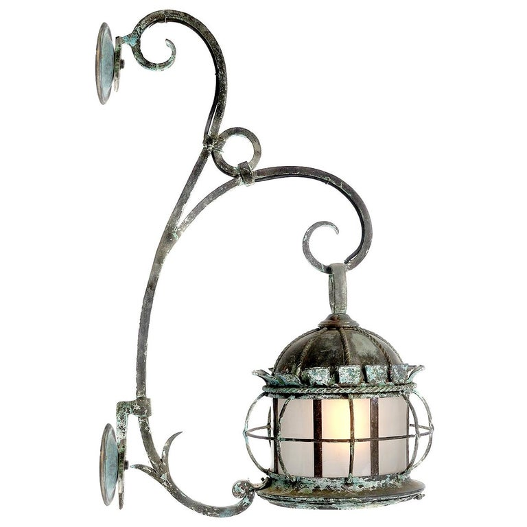 Large Early Estate Sconce For Sale