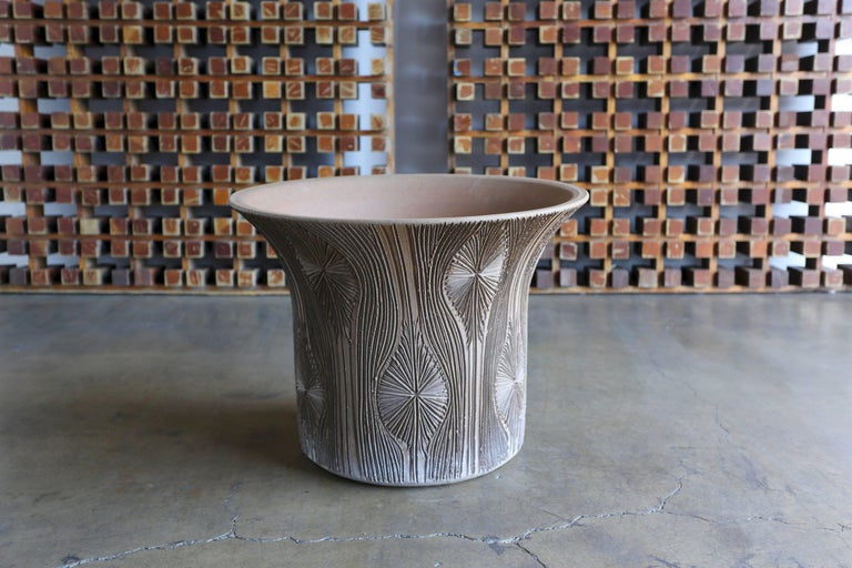 Mid-Century Modern Large Earthgender Planter by Robert Maxwell & David Cressey  For Sale