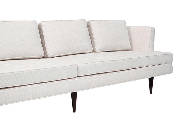 Brass Large Edward Wormley Dunbar Sofa For Sale