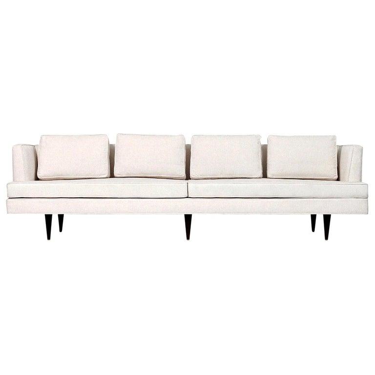 Large Edward Wormley Dunbar Sofa For Sale