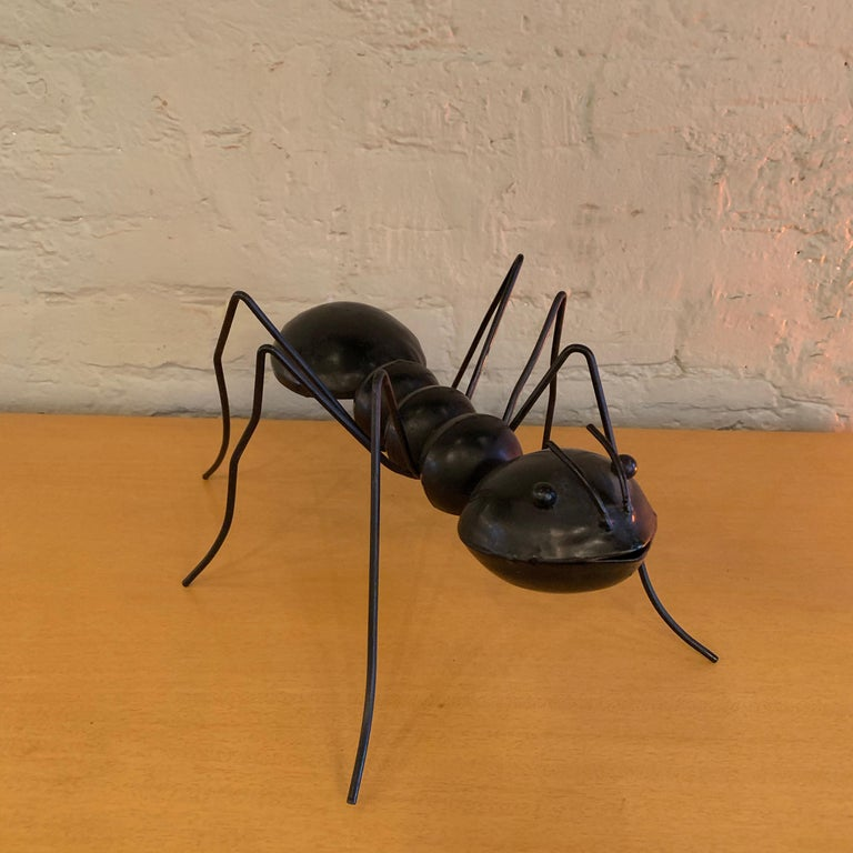 American Large Enameled Metal Ant Sculptures For Sale